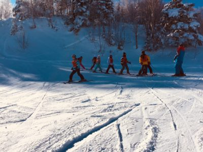 中学校 スキー実習(30.2.8)5
