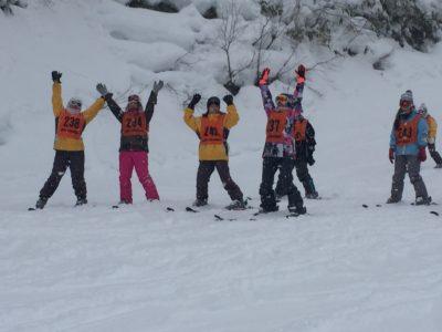 中学校 スキー実習(30.2)1
