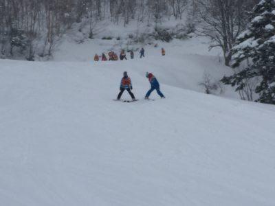 中学校 スキー実習(30.2)2