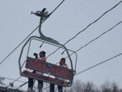 中学校 スキー実習(30.2)3