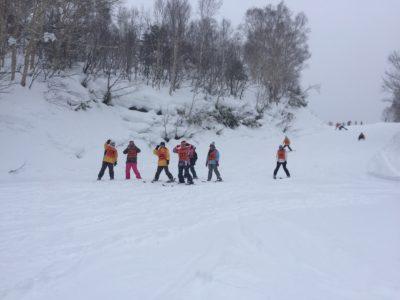中学校 スキー実習(30.2)5