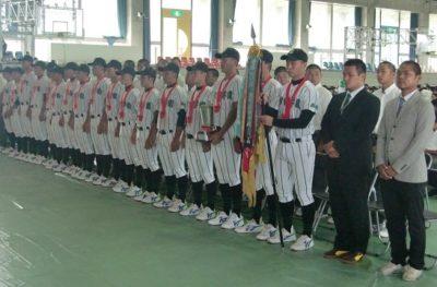 野球部甲子園壮行会1