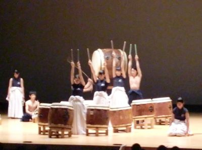 文化祭 剣道太鼓