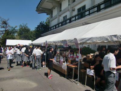文化祭 模擬店