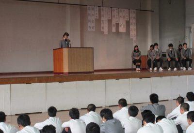 後期生徒会役員選挙1