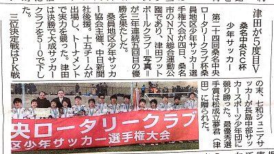 津田フットボール中日新聞記事30.2.7_1サイト