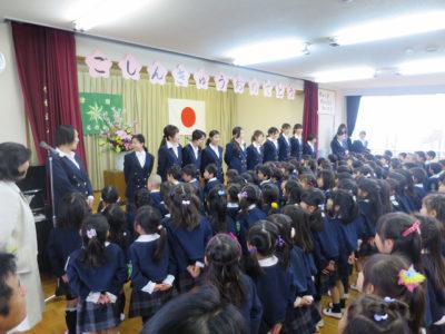 桑名幼 入園式(29.4)