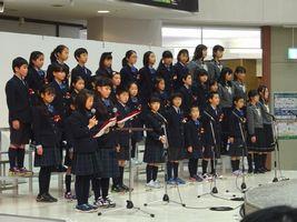 小学校 クリスマスコンサート(29.12)1