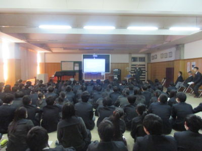 中学校 道徳講話(29.12)1