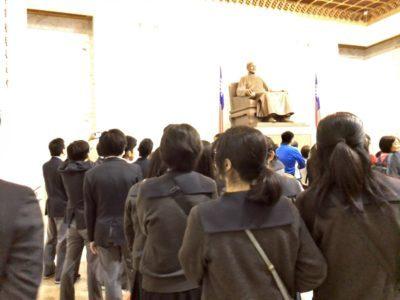 中学校 修学旅行中正記念館(29.12)2