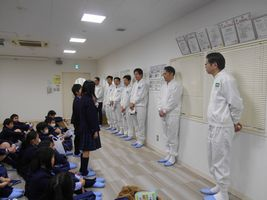 小学校 九鬼産業見学(30.2)1