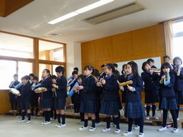小学校 1・2学習発表会(30.2)1