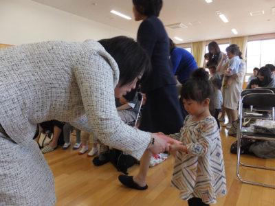 第一幼 はじまりの会(30.4)1