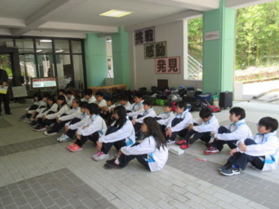 中学校 野外学習(30.4)1