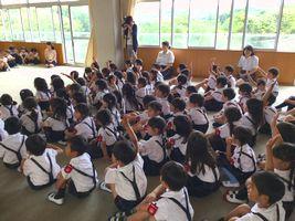 小学校 第一幼交流会(30.6)2