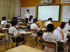小学校 夏期講習(30.7)2