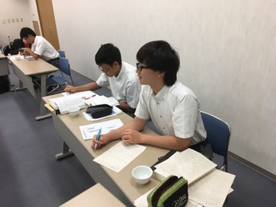 中学校 東大合宿'(30.8)2