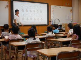 小学校 体験授業(30.8)3