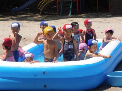 第二幼稚園 夏期保育(30.7)1