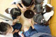 小学校 かぶと虫飼育(30.8)2