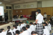 中学校 卒業生講演会(30.9)2