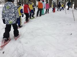 雪の学校2日目(31.1)2