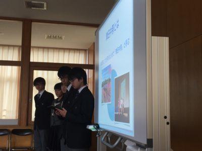 中学校 小中交流会(29.10)2