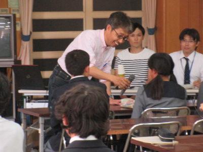 中学校 癌教育(29.10)2