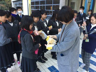 中学校 校外美化活動(29.11)2