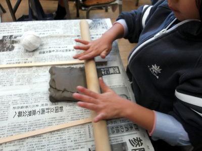 小学校 陶芸教室(29.11)2