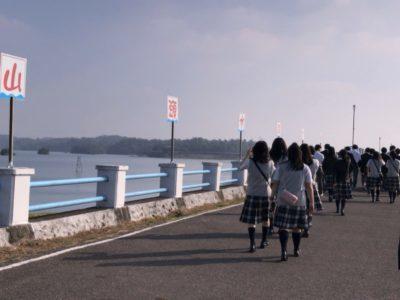 中学校 修学旅行ダム(29.12)