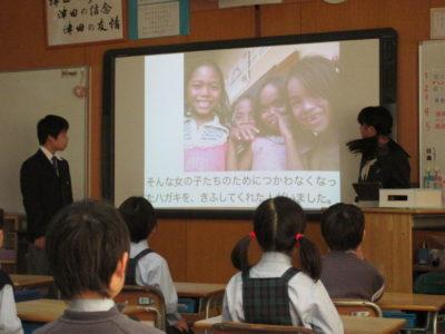 中学校 寺子屋運動(30.2)2