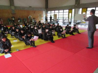 中学校 探究ガイダンス(30.4)