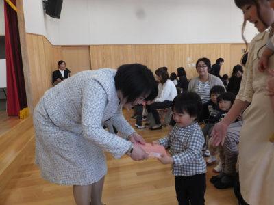 第一幼 はじまりの会②(30.4)
