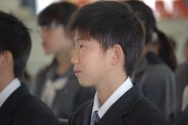 中学校 入学式(30.4)2