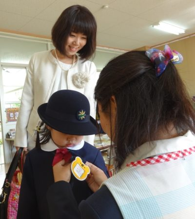 幼稚園 入園式(30.4)2