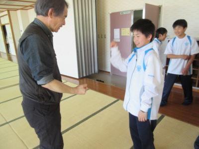 中学校 野外学習(30.4)2