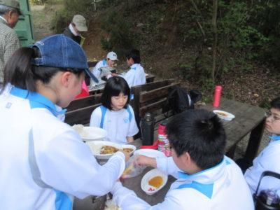 中学校 野外学習(30.4)3