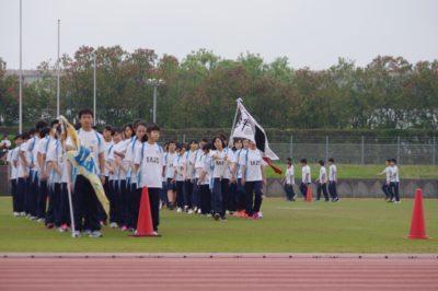 中学校 体育祭(30.6)1