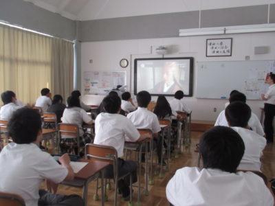 中学校 道徳授業(30.6)