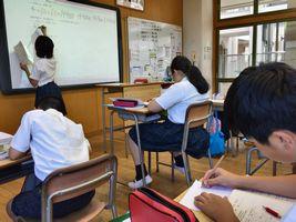 小学校 夏期講習(30.7)1