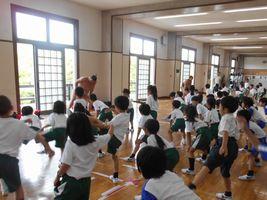 小学校 相撲授業(30.7)1