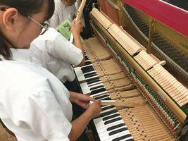 小学校 音楽出前講座(30.7)2