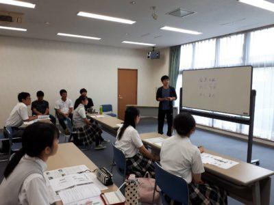 中学校 東大合宿(30.8)1