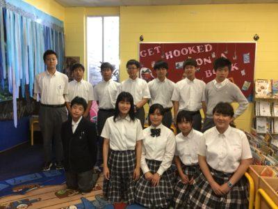 中学校 オーストラリア研修(30.8)2