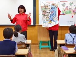 小学校 ロータリー(30.11)2