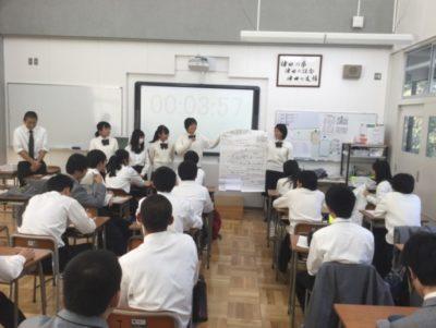 高校 ポスター制作(30.11)2