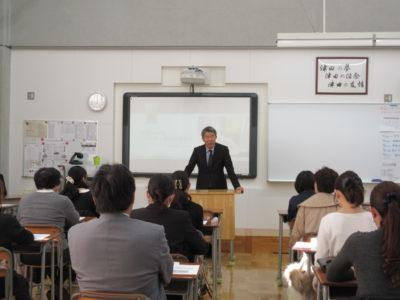 中学校 進路保護者会(30.12)1