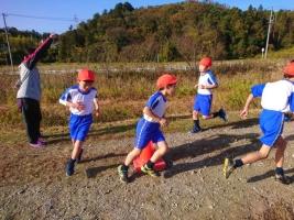 小学校 マラソン大会1(30.11)