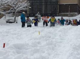 雪の学校3日目(31.1)1